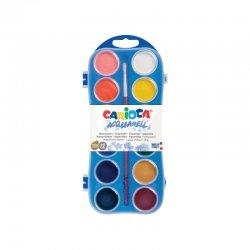 CARIOCA Acquarell Νερομπογιές 12 Χρωμάτων Με 1 Πινέλο (42400)