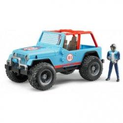 BRUDER Jeep cross country racer μπλε(02541)