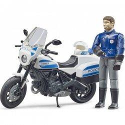 Bruder Μηχανή Αστυνομίας Ducati Με Αναβάτη (62731)