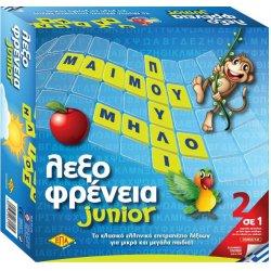 Επιτραπέζιο Junior Λεξοφρένεια (03-214)