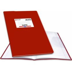 Skag Τετράδιο Εξήγηση Κόκκινο ριγε 50 Φύλλων 1Τμχ (217521)