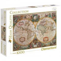 Παζλ Clementoni 1000 H.Q. Χαρτης Αντικα (1220-31229)