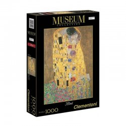 Παζλ Clementoni 1000 H.Q. Museum Klimt Το Φιλί (1260-31442)