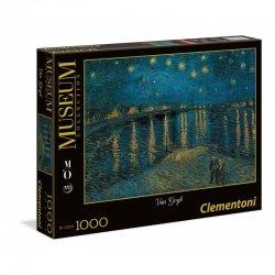 Παζλ Clementoni 1000 H.Q. Museum Van Gogh Εναστρη Νύχτα Πάνω Από Το Ρήνο (1260-39344)