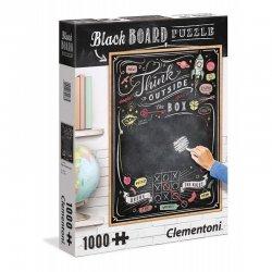 Παζλ Clementoni 1000 H.Q. Μαυροπίνακας Think Outside The Box (1260-39468)