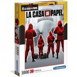 ΠΑΖΛ CLEMENTONI 1000 LA CASA SE PAPEL (THE MONEY HEIST) (1260-39532)