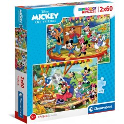 CLEMENTONI ΠΑΖΛ 20x60 ΤΕΜ.  Mickey and Friends (1200-21620)