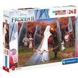 CLEMENTONI 24 MAXI S.C Frozen 2 Elsa & Anna (1200-24217)