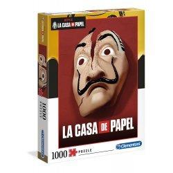 CLEMENTONI ΠΑΖΛ 1000 ΤΕΜ. LA CASA DE PAPEL THE MONEY HEIST (1260-39533)