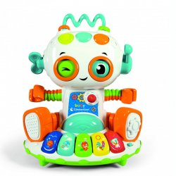 BABY CLEMENTONI ΒΡΕΦΙΚΟ ΠΑΙΧΝΙΔΙ BABY ROBOT -ΜΙΛΑΕΙ ΕΛΛΗΝΙΚΑ (1000-63330)