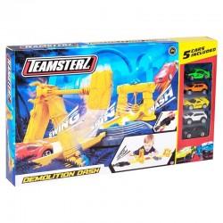 Teamsterz Demolition Dash Πίστα Με Πέντε Αυτοκίνητα (7535-16646)