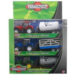 Teamsterz Τρακτέρ & Τρέιλερ 1:32 (7535-72300)