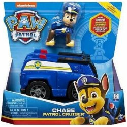 PAW PATROL CHASE PATROL CRUISER VEHICLE WITH PUP (20114321)