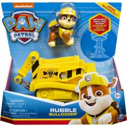 PAW PATROL RUBBLE BULLDOZER VEHICLE WITH PUP (20114323)
