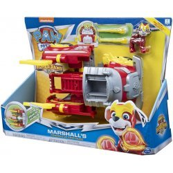 PAW PATROL MIGHTY PUPS SUPER PAWS-MARSHALL'S POWERED UP FIRETRUCK  (20115056)