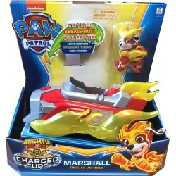 PAW PATROL MIGHTY PUPS CHARGED UP MARSHALL DELUXE VEHICLE (20121273)