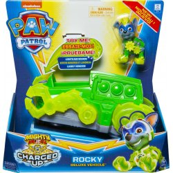 PAW PATROL MIGHTY PUPS CHARGED UP ROCKY DELUXE VEHICLE (20121276)