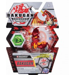 BAKUGAN ARMORED ALLIANCE: BAKUGAN GATE TRAINER DRAGONOID CORE BALL (ΚΟΚΚΙΝΟ) (20122444)