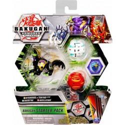 BAKUGAN ARMORED ALLIANCE: BAKUGAN STARTER PACK S2 - HYDOROUS X THRYNO ULTRA + BARBETRA + AUXILLATAUR (20125406)