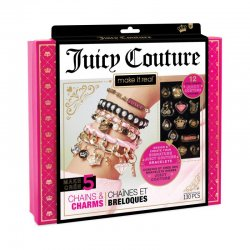 MAKE IT REAL  JUICY COUTURE GOLD CHAINS & CHARMS (4404)