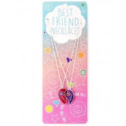 ΚΟΛΙΕ BEST FRIENDS ΣΕΤ 2 Τεμ. HEART-BUTTERFLY SPLIT (14482399)
