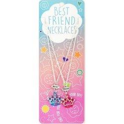 ΚΟΛΙΕ BEST FRIENDS ΣΕΤ 2 Τεμ. BLUE-PINK CROWNS (14482400)
