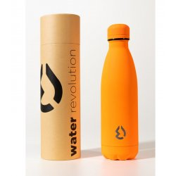 Μπουκάλι Θερμός Ματ 500ml Water Revolution Πορτοκαλί (CR0134)