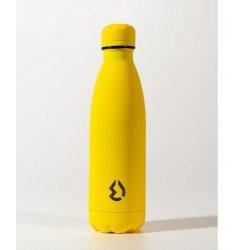 Μπουκάλι Θερμός Ματ 500ml Water Revolution Κίτρινο (CR0135)