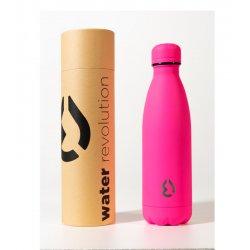 Μπουκάλι Θερμός Ματ 500ml Water Revolution Φουξια (CR0139)