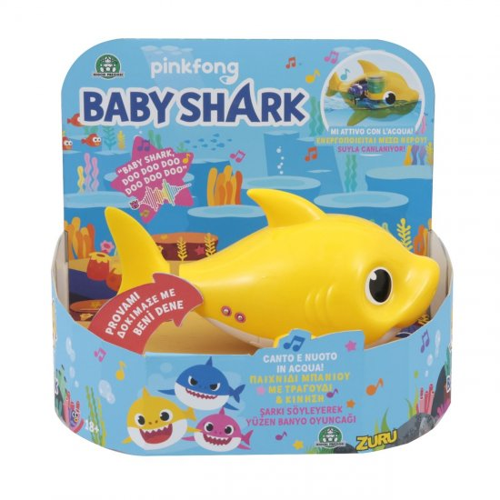 BABY SHARK ΔΙΑΔΡΑΣΤΙΚΟ ΠΑΙΧΝΙΔΙ ΜΠΑΝΙΟΥ ΚΑΡΧΑΡΙΑΣ (BAH03000)