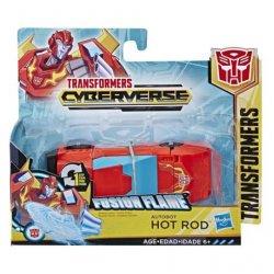 TRANSFORMERS CYBERVERSE 1 STEP HOT ROD (E3644)