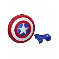 AVENGERS Captain America Magnetic Shield And Gauntlet (B9944)