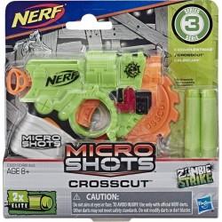 NERF MICROSHOTS ZOMBIE STRIKE CROSSCUT (E3001)