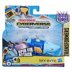 TRANSFORMERS CYBERVERSE 1 STEP SKY-BYTE (E4792)