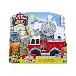 Play-Doh Wheels Πυροσβεστικό Όχημα Με 5 Μη-Τοξικά Χρώματα (E6103)