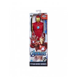 AVENGERS TITAN HERO FIGURE IRON MAN (E7873)