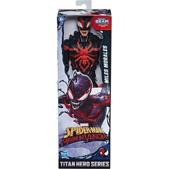MARVEL SPIDERMAN MAXIMUM VENOM TITAN HERO MILES MORALES (E8729)