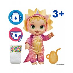 Baby Alive Dino Cuties Dress Up Triceratops (F0933)
