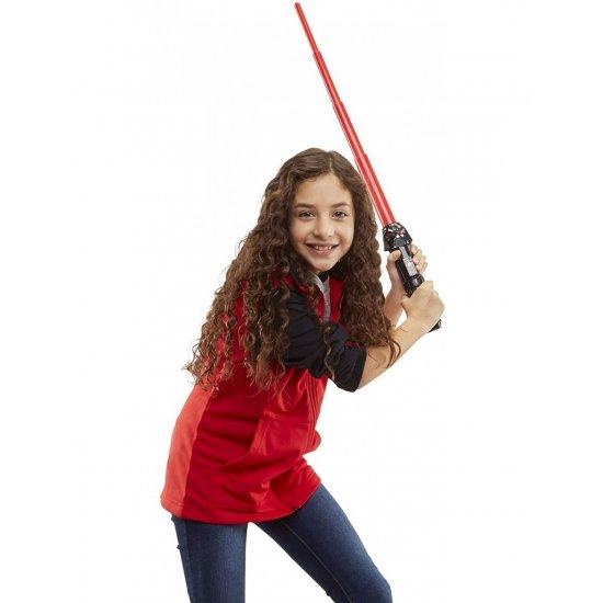 Star Wars Lightsaber Squad Darth Vader Extendable Red Lightsaber (F1041)