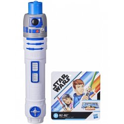 Star Wars Lightsaber Squad R2-D2 Extendable Blue Lightsaber (F1040)