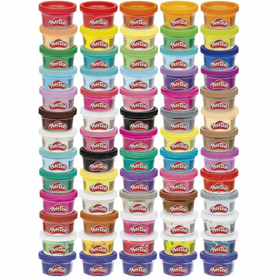 PLAY DOH 65 ULTIMATE COLOR COLLECTION (F1528)