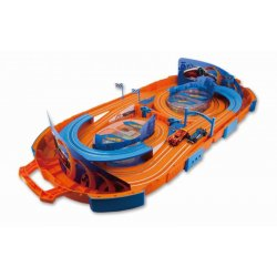 Hot Wheels Αυτοκινητόδρομος Slot Case Carx2-2.80m (83122)