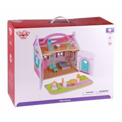 Tooky Toy ΞΥΛΙΝΟ ΚΟΥΚΛΟΣΠΙΤΟ(TKI050)