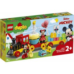 LEGO DUPLO DISNEY MICKEY AND MINNIE BIRTHDAY TRAIN (10941)