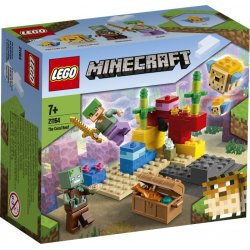 LEGO MINECRAFT THE CORAL REEF (21164)
