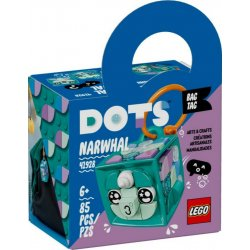 LEGO DOTS BAG TAG NARWHAL (41928)