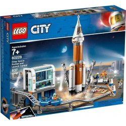 LEGO CITY SPACE DEEP SPACE ROCKET AND LAUNCH CONTROL (60228)
