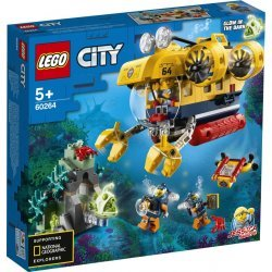 LEGO CITY OCEAN EXPRORATION SUBMARINE (60264)