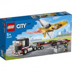 LEGO City Φορτηγό Μεταφοράς Τζετ Αεροπορικής Επίδειξης (60289)