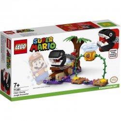 LEGO Super Mario Πίστα Επέκτασης Συνάντηση Με Chain Chomp Στη Ζούγκλα (71381)